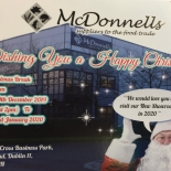 McDONNELL'S SEASON'S GREETING TO ALL OUR CUSTOMER